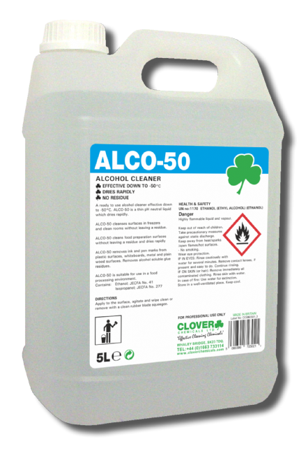 Clover Alco-50 - Alcohol Cleaner
